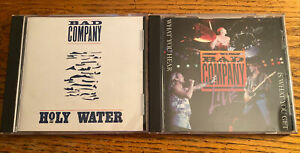 Bad Company *CD lot* 2 albums Holy Water & The Best Of Bad Company