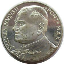 VATICAN argent médaille PAPE JOANNES PAULUS II.