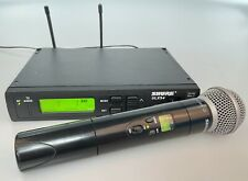 Used Shure ULXS24-J1 Wireless Receiver and Handheld Transmitter w/ Beta58A