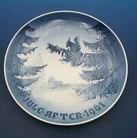 1961 Bing & Grondahl Christmas Plate  B&G WINTER HARMONY