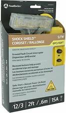 SOUTHWIRE SHOCK SHIELD CORDSET SJTW BRAND NEW