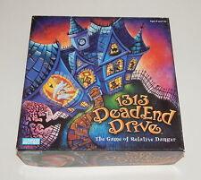 1313 Dead End Drive Board Game 13 Sequel Danger Traps Detective Clue Style