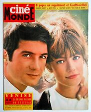 ►CINE MONDE 1516/1963-FRANCOISE HARDY-SYLVIE VARTAN- HALLYDAY- CURD JURGENS
