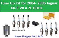 Oil Filter Air Fuel Filter Spark Plug to Tune Up for 2004 - 2006 Jaguar XK-R V8
