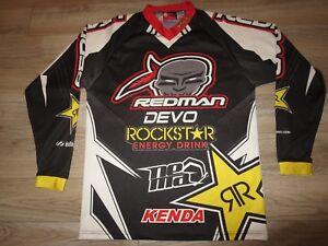 Rockstar Energy Redman Jake Berkman Motocross Racing Jersey XS Small SM