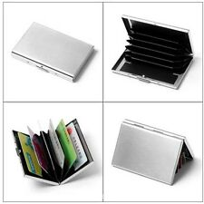 Waterproof Stainless Metal Pocket Business Credit ID Card Case Wallet Holder Box