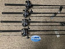 4PK NEW SHIMANO TDR 8'6 MEDIUM HEAVY W/ MAGDA PRO MA-45DX SALMON DIPSY DIVER