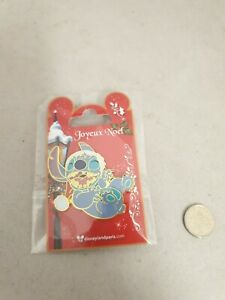 Disney Pin Badge Stitch Christmas Disneyland Paris Noel