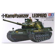 TAMIYA KampfPanzer LEOPARD TANK MODEL SET (SCALA 1:35) 35064 NUOVE