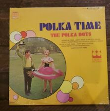 "The Polka Dots Polka Time Vinyl LP Crown Records 12"" record CST569 Sealed NM"