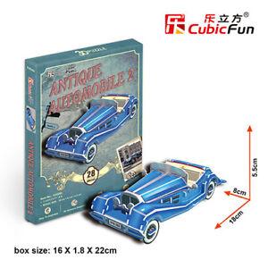CubicFun 3D puzzle S3028h Antique Automobile2  28pcs