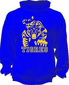 Tigres Sweatshirt Hoodie Hoody Sudadera Mexico Liga MX UANL Nuevo Leon New