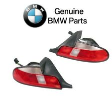 Bmw Z3 99-02 Pair Set of Left and right Taillights Lamps with White Turn Signal