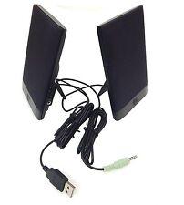 HP H-204B USB Powered Thin Flat Speakers BRAND NEW 63639-001