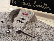 """PAUL SMITH Mens Shirt 🌍 Size 16.5"""" (CHEST 44"""") 🌎 RRP £95+ 📮 ABSTRACT FLORAL"""