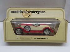 Matchbox Models of Yesteryear Stutz Diecast Vehicles