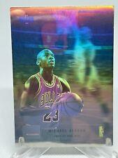 Michael Jordan 1992-93 Upper Deck McDonald's Hologram SP Insert