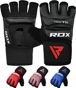 RDX Taekwondo Gloves TKD Grappling Training MMA Boxing Punching Bag Fighting