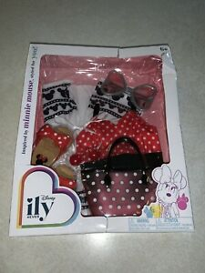 Disney ily 4ever Inspired by Minnie Mouse Doll Dress Outfit ILY 4 Ever New