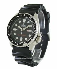 Seiko Automatic Diver Black Dial 200M SKX007K1 SKX007K Rubber Band Watch