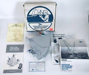 Davis Mark III Standard Marine Sextant Star Celestial Navigation New Open Box
