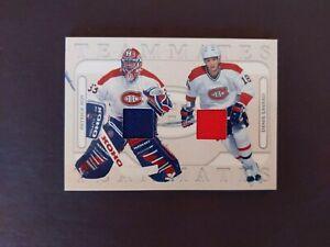 2004-05 ITG Silver Teammates P. Roy/D. Savard Jersey 1/60 Canadiens