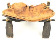 Vintage Camel Saddle Stool