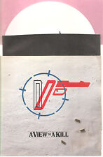 "DURAN DURAN ""A View To A Kill"" white 7"" Vinyl Single"
