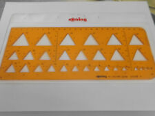 Rotring Schablone Dreieck  Art.- Nr.840 685 OVP