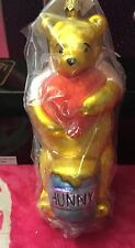 Christopher Radko Ornament Disney Winnie the Pooh Bear and Heart  New in Box