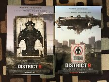 District 9 Original Movie Poster 27X40 Double Sided Lot Of 2 Both Styles 2009
