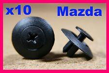 10 Panel guarnecido de Push Tipo Tornillo Sujetador Presilla Mazda 40 B