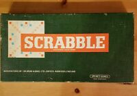 SCRABBLE Board Game By Spear's Games  - Complete- Vintage