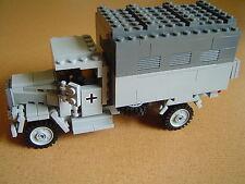 Lego WW2 GERMAN Vehicle OPELBLITZ Truck TANK Artillery NEW NO MINIFIG