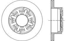 2x OPEN PARTS Discos de Freno Traseros Pleno 289mm Para IVECO DAILY BDA1691.10