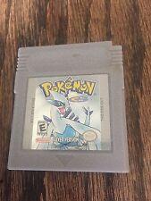 Pokemon Silver Game Boy Color -- Game Version