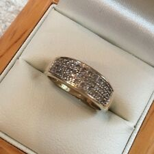 9ct Gold Wedding Diamond Ring, 0.50 ct Diamond, Size M, Weight 2.4g,