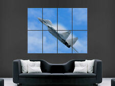 Mig 29 Fighter Jet Avion Grand Art Giant poster print IMAGE énorme