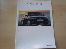 52848) Opel Astra Prospekt 10/1994
