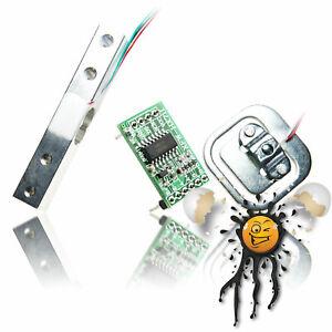 Wiege Scale Druck Pressure Gewicht Weight Sensor Set 1kg - 200kg + HX711 ADC