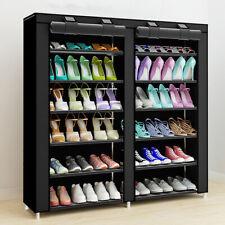 Range-Chaussures Organisateur Rangement Étagère Meuble À Chaussures_110X120X30Cm