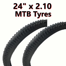 2x Tyre 24 x 2.10 MTB Mountain Bike Bicycle