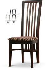 Echt Holzstuhl Stoff Sitz Stuhl Stühle MADE IN EU Sessel Esszimmer Büro *Neu*