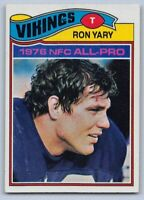 1977  RON YARY - Topps Football Card # 150 - MINNESOTA VIKINGS