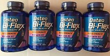 4 Bottles Osteo Bi-Flex Triple Strength Glucosamine/MSM with D3, 800 Tablets