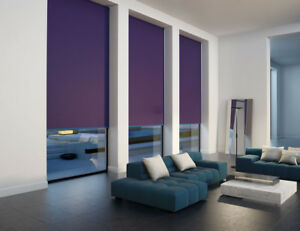 Roller Blinds Blackout  - Made to Measure - Loads of Colour Choice