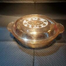 Fire King George Briard Covered Dish - 1 1/2 Quart - Item #362
