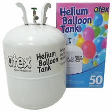 HELIUM GAS TANK - FILLS UP TO 50 PCS REGULAR BALLOONS