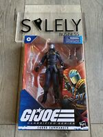 "GI Joe Classified Series Cobra Commander 6"" Dark Blue #06 Action Figure New"