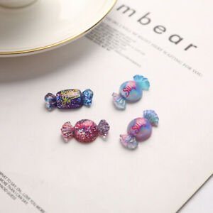 12Pcs Cute Resin Mini Mixed Candy Flat Back Scrapbook DIY Accessori.hu